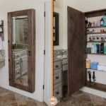 Concealed Wall Safe Mirror