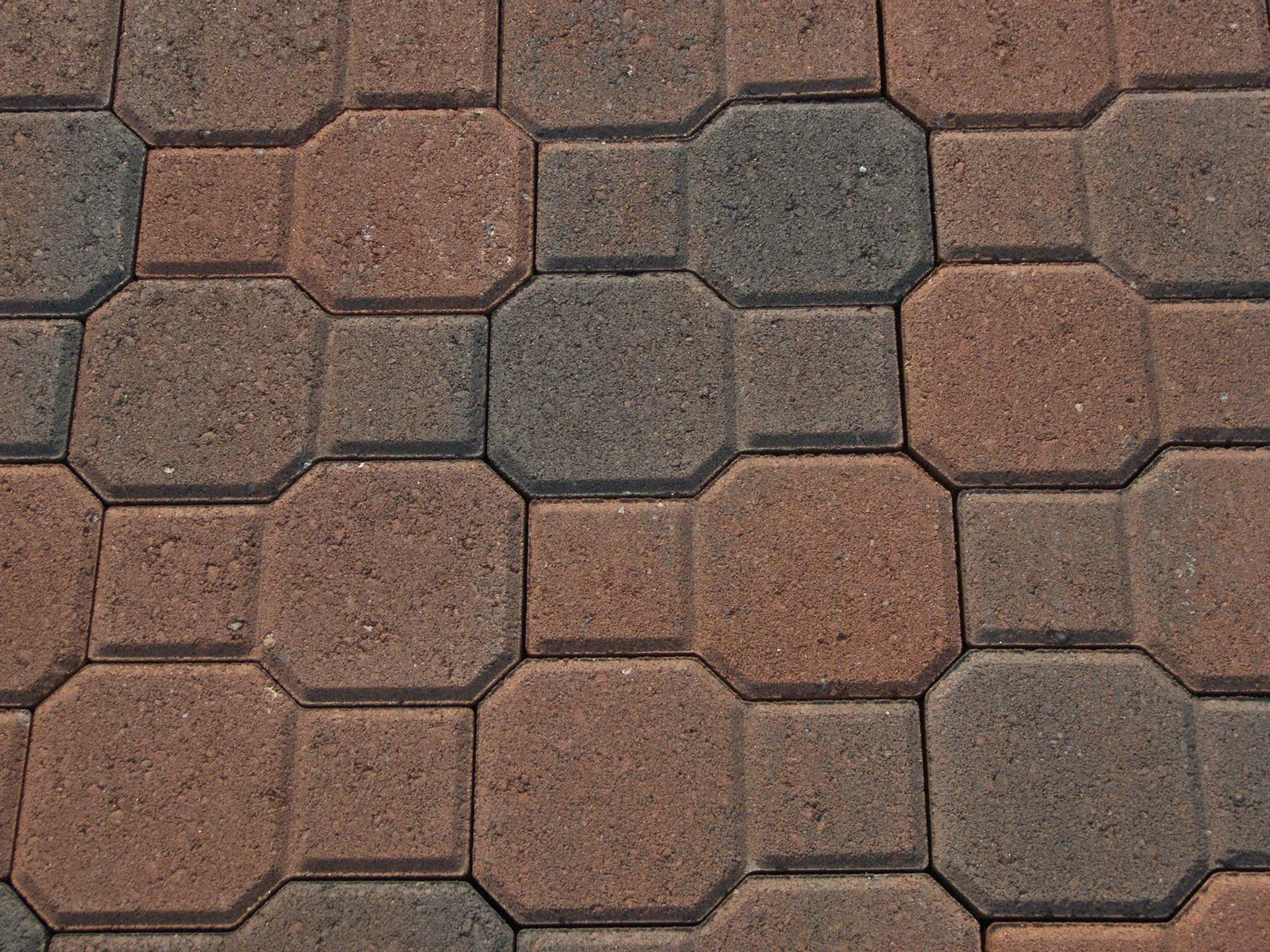 Image of: Concrete Patio Bricks