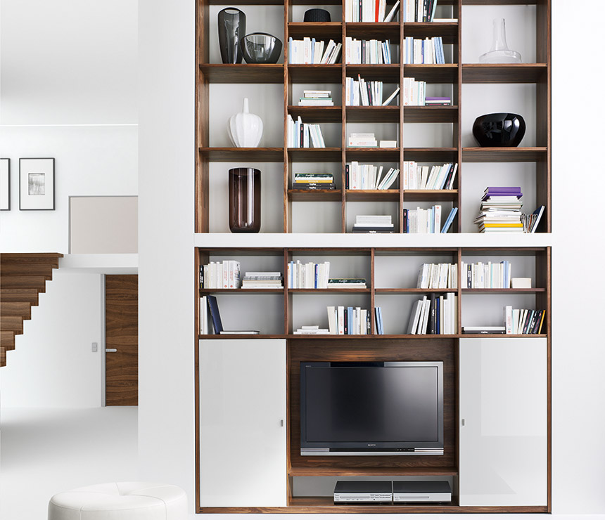 Image of: Contemporary Bookcaseis  Modern Bookshelves
