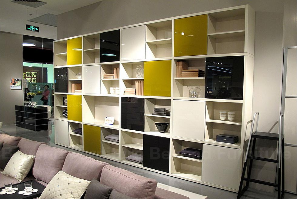 Image of: Contemporary Bookcaseis   sofa