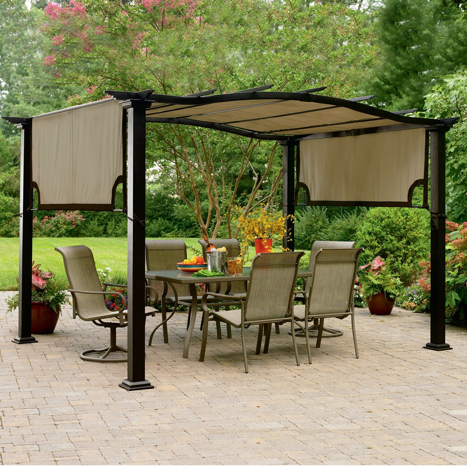 Image of: Contemporary Canopies for Decks