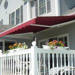 Contemporary Retractable Deck Awnings