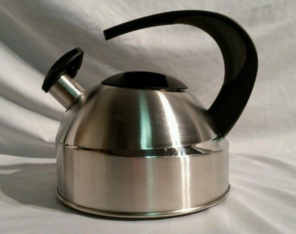 Image of: Copco Stainless Steel Tea Kettle