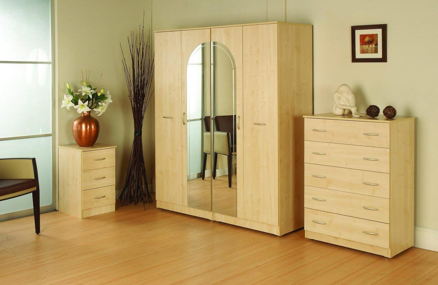Image of: Corner Wardrobe Armoire