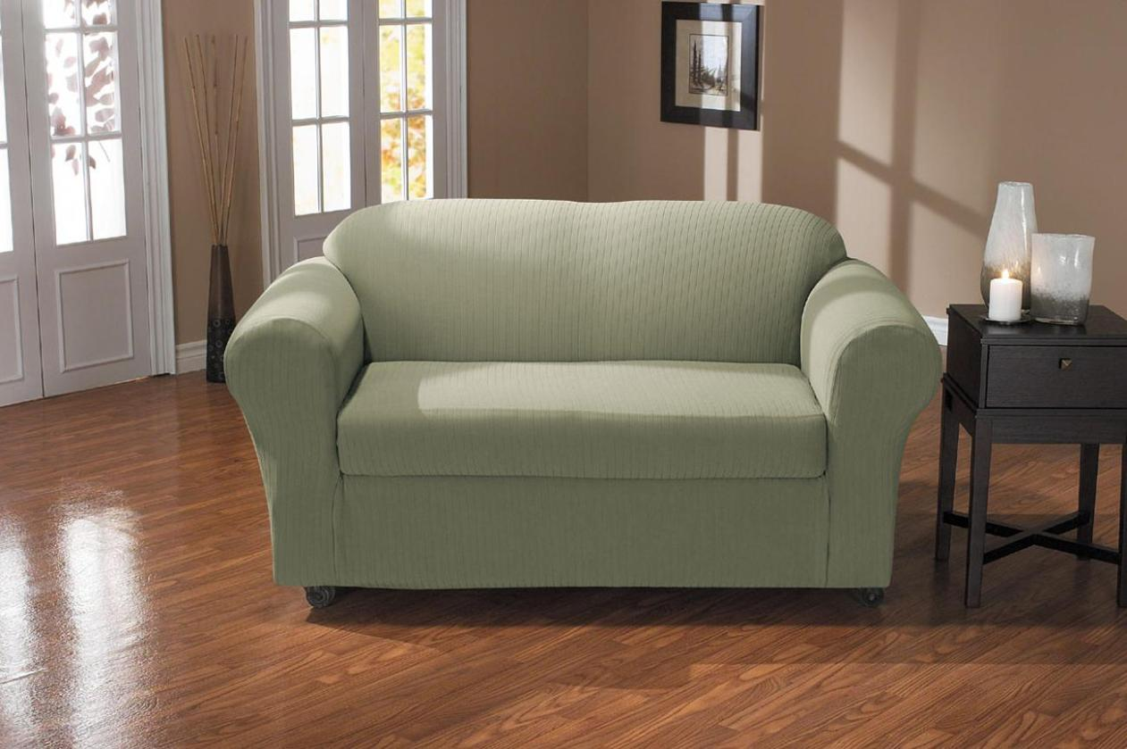 Image of: Couch And Loveseat Cover Sets