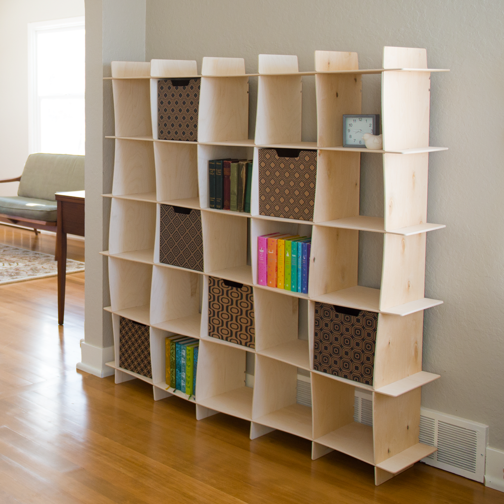 Image of: Cubby Bookcase Image