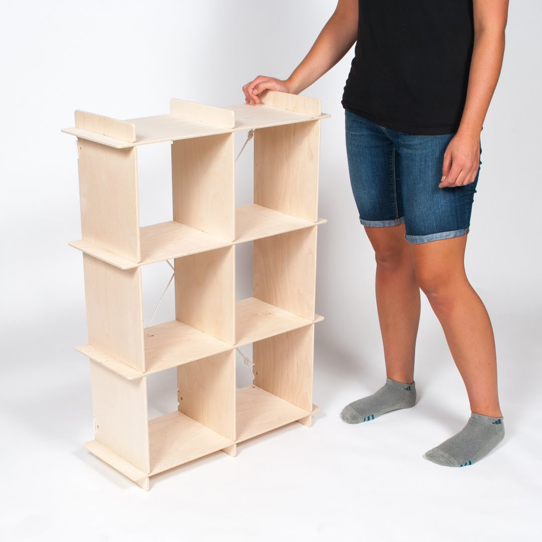 Image of: Cubby Bookcase Model