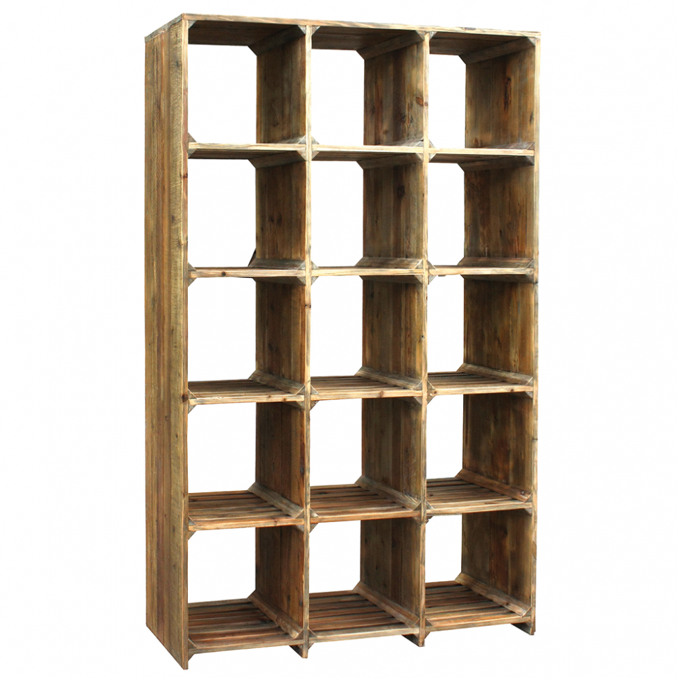 Image of: Cubby Bookcase Photo
