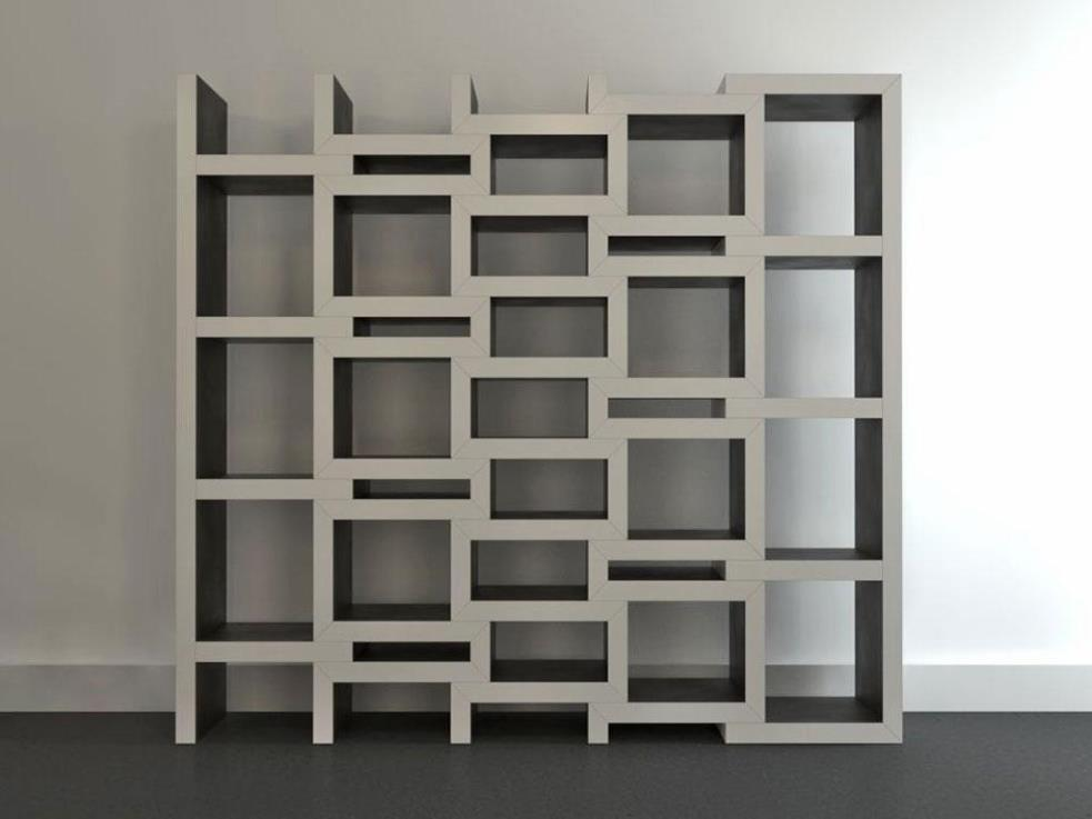 Image of: Cube Bookcase Diy