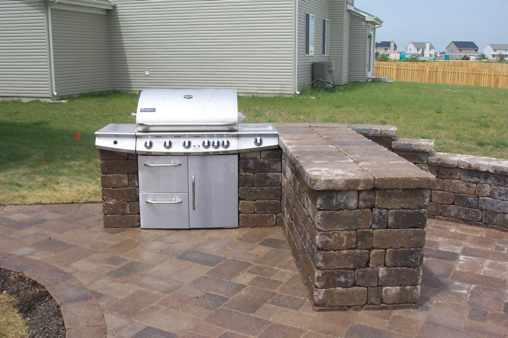 Image of: Custom Outdoor Griddle