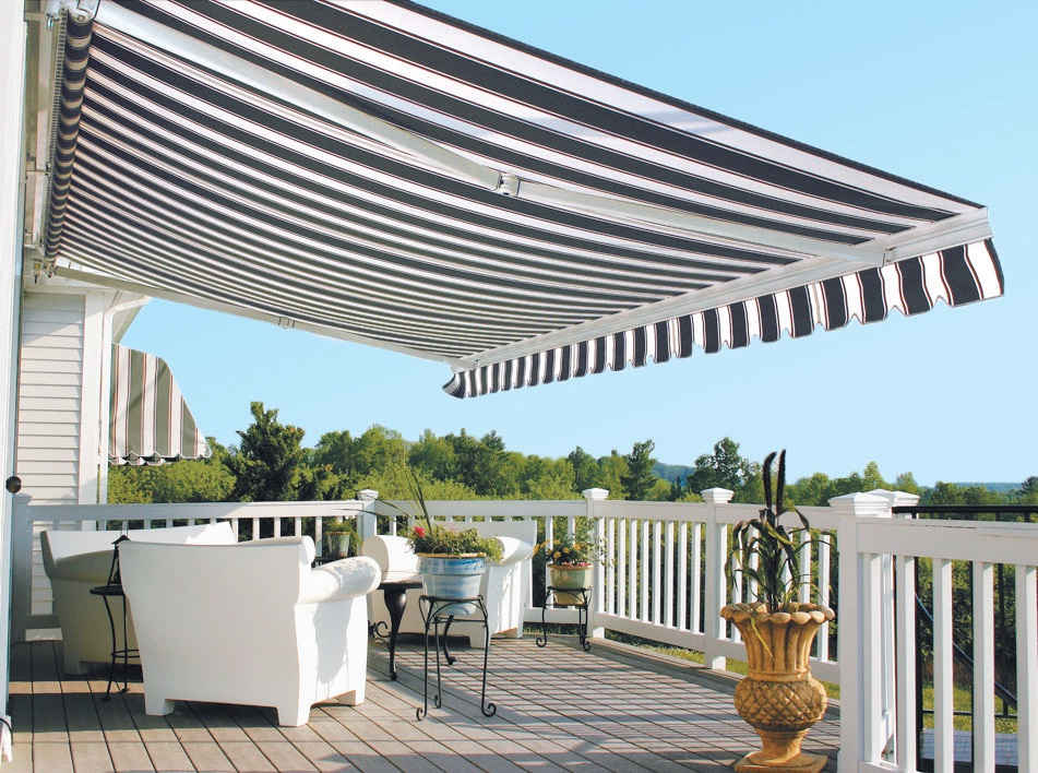 Image of: Cute Deck Awning