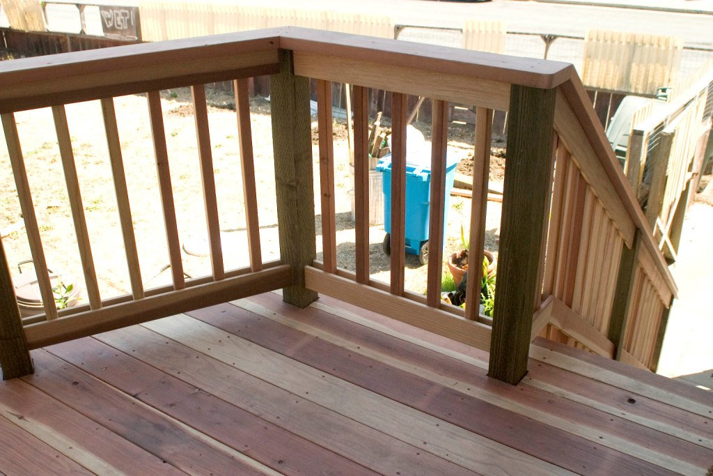 Cute Deck Railing Designs