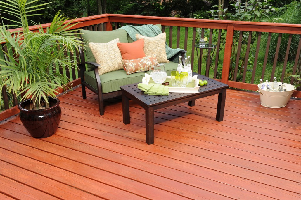 Image of: Cute Solid Deck Stain
