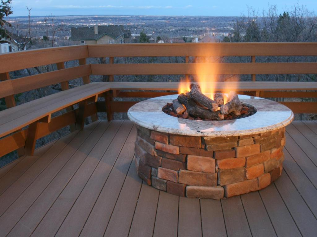 DIY Propane Deck Fire Pit Ideas