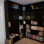 DVD Bookcase L Shaped