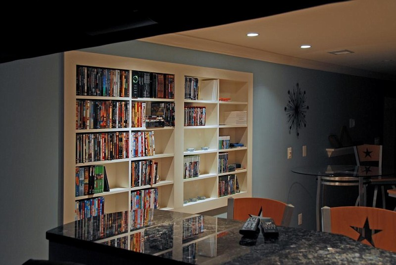 Image of: DVD Bookcase Large