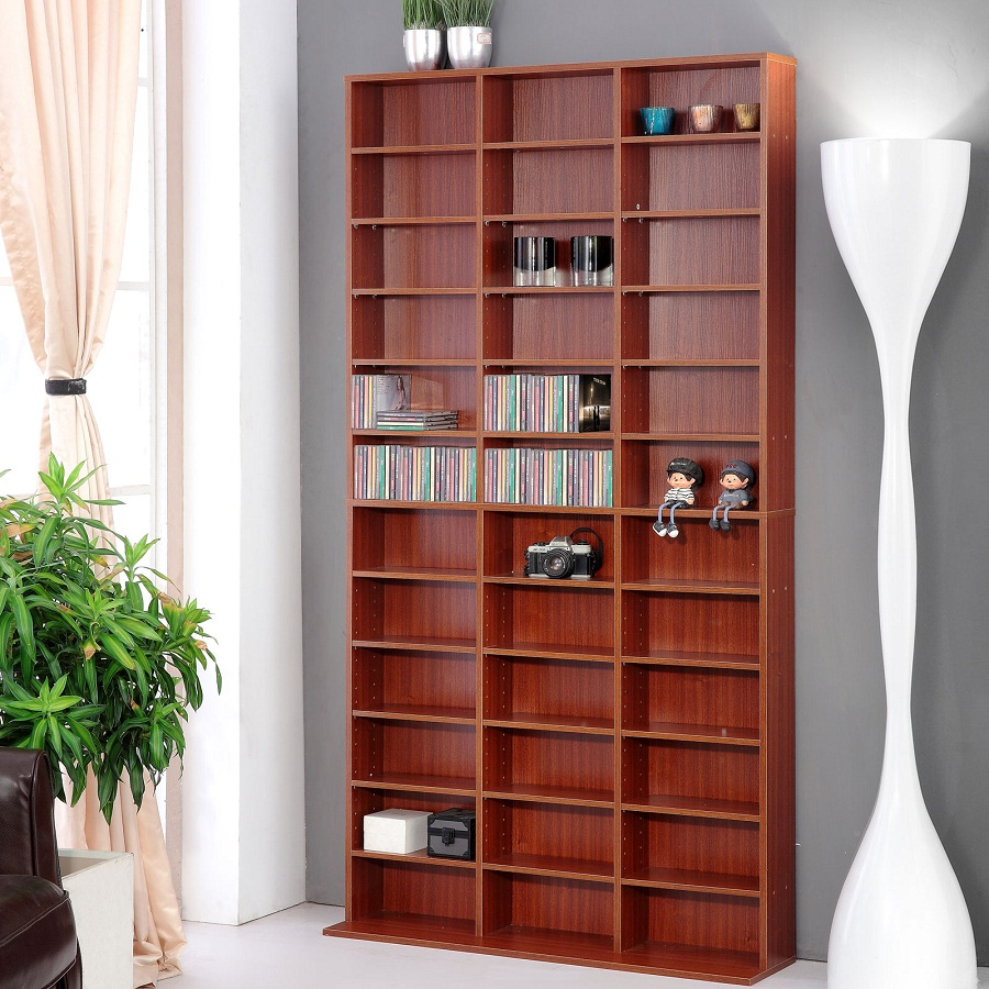 Image of: DVD Bookcase Units