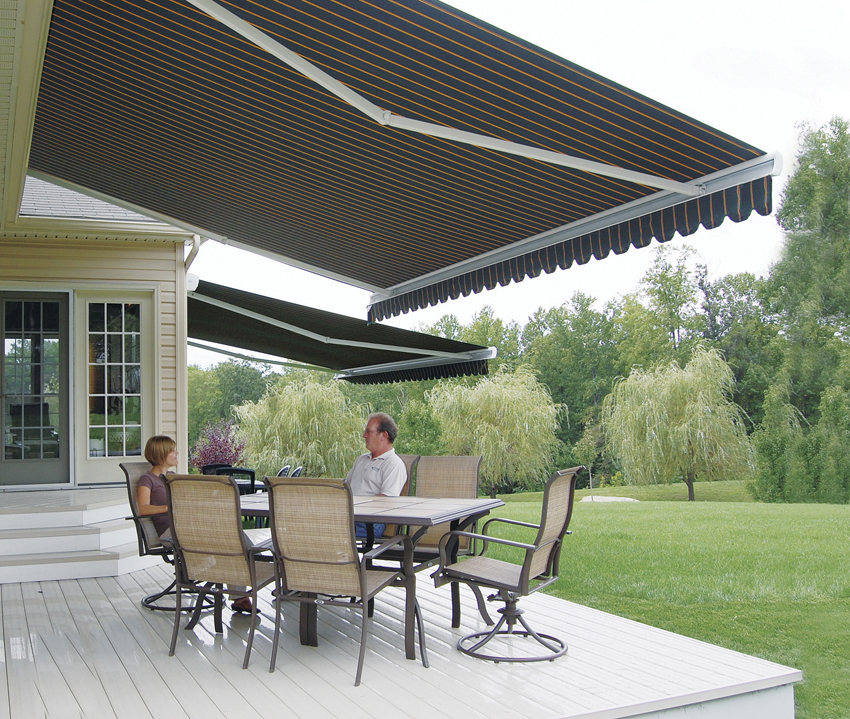 Image of: Deck Awning Plan