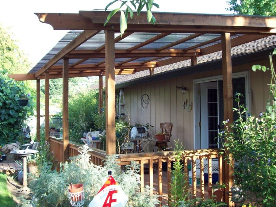 Image of: Deck Awnings Ideas