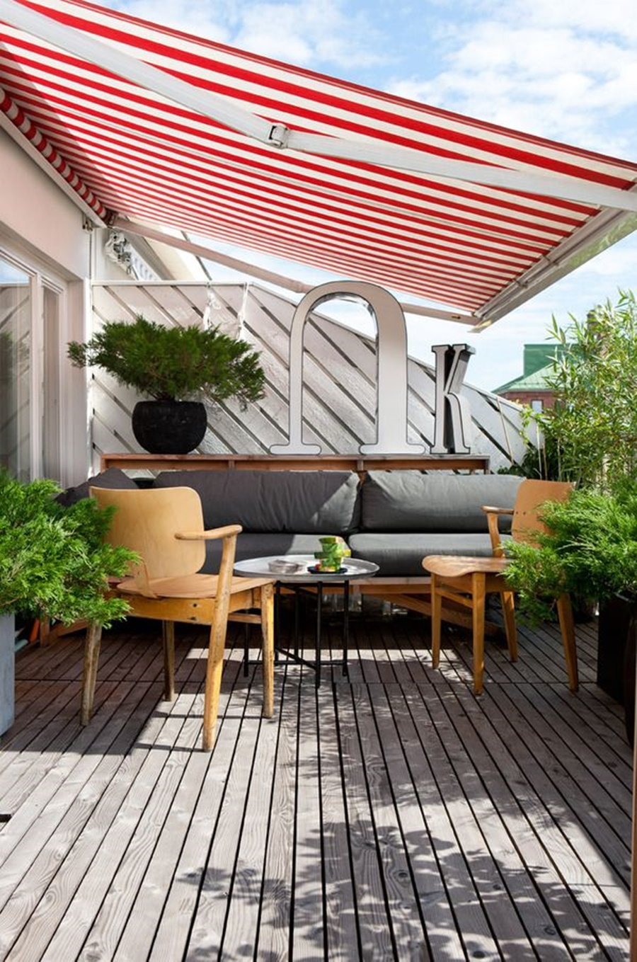 Image of: Deck Awnings