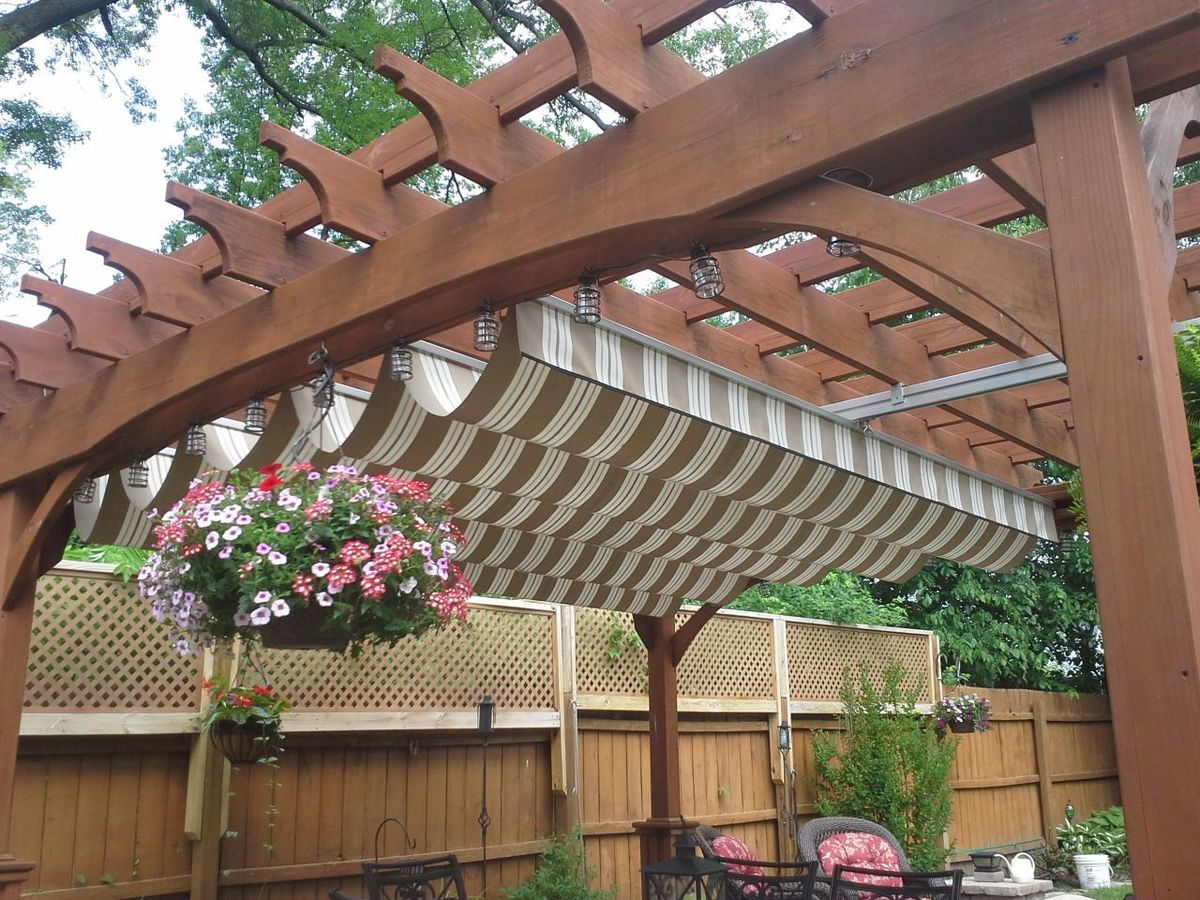 Image of: Deck Covers for Shade Fabric