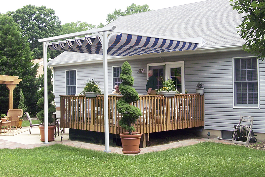 Image of: Deck Covers for Shade Ideas