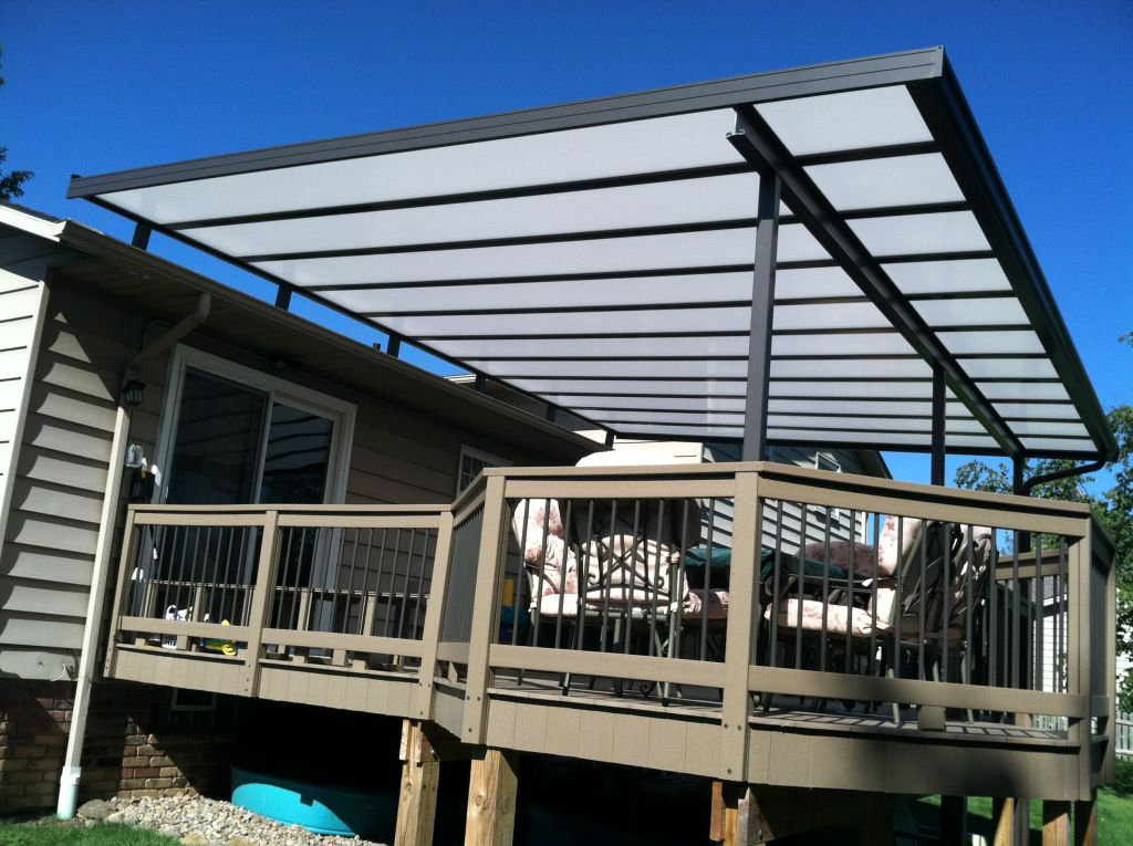 Image of: Deck Covers for Shade Install