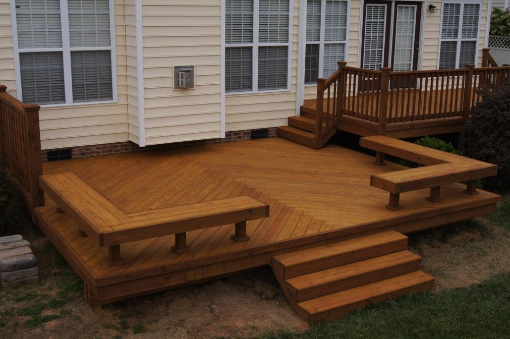 Image of: Deck Seating Ideas Awesome