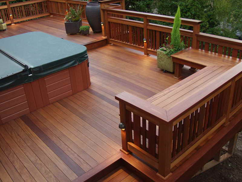 Image of: Deck Seating Ideas Decor