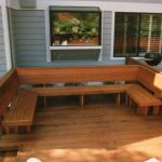 Deck Seating Ideas Plans