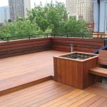 Deck Seating Ideas Roof