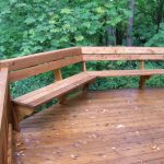 Deck Seating Ideas Simple