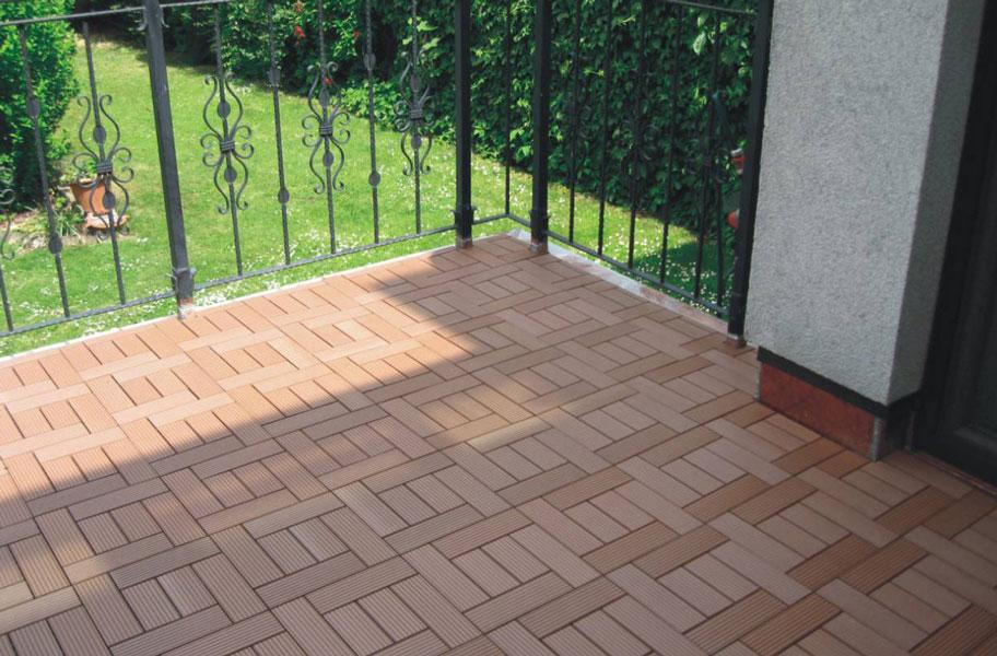 Image of: Deck Tile Ideas