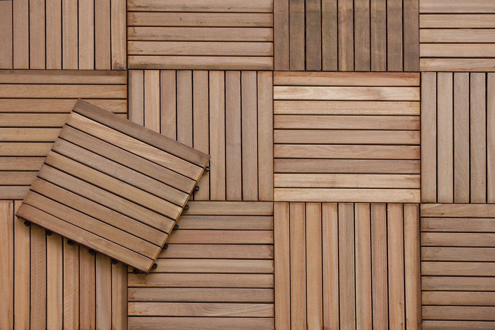 Image of: Decking Squares Picture