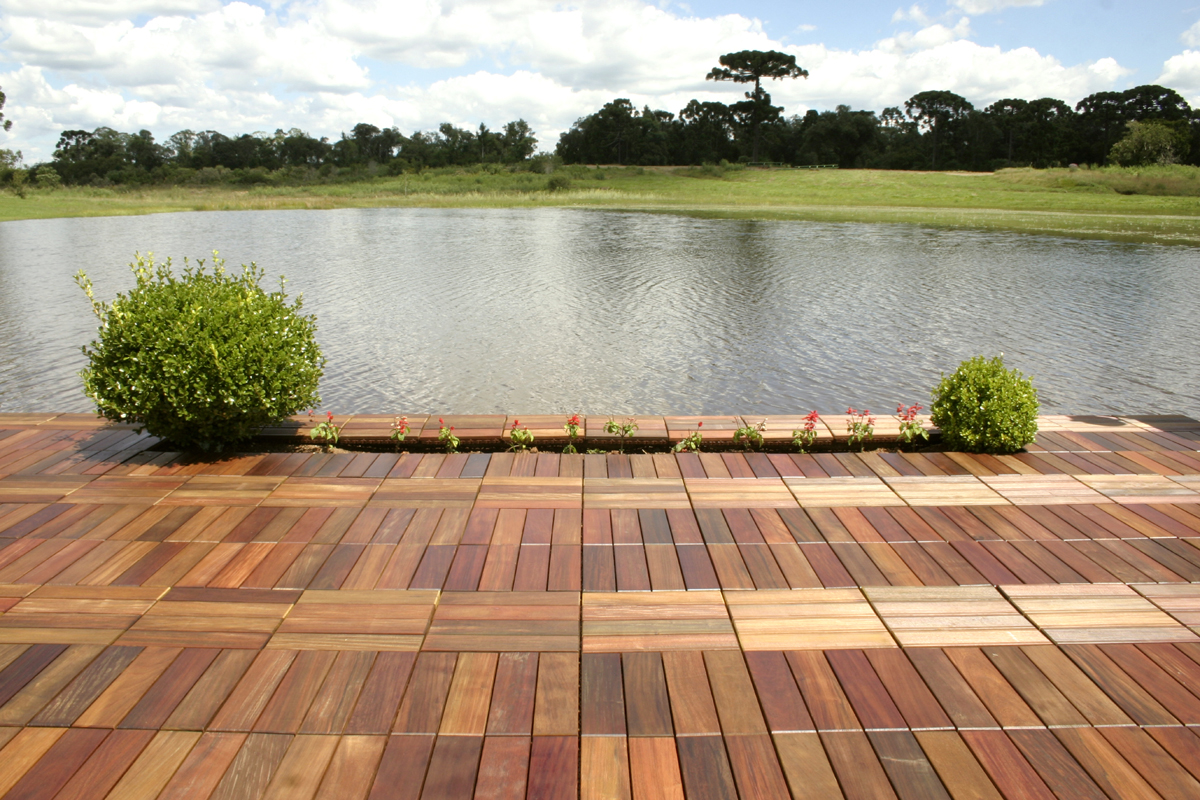 Image of: Decking Squares Style