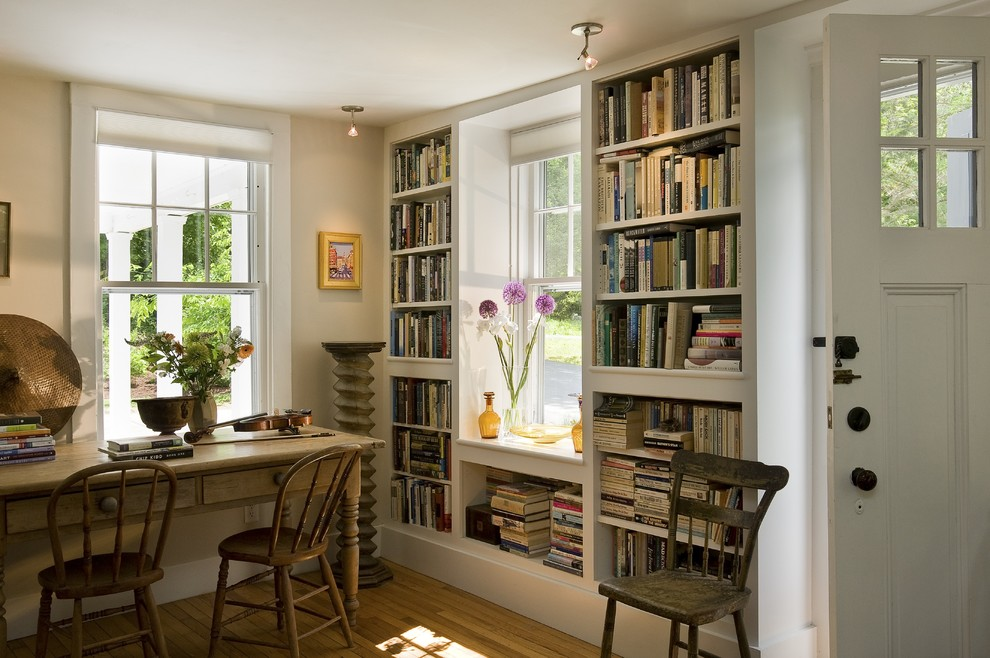 Image of: Deep Bookcase Library
