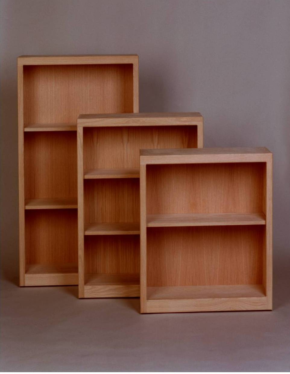 Image of: Deep Bookcase Size