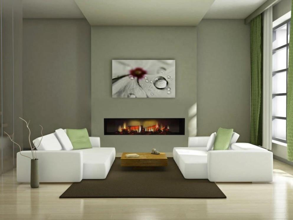 Image of: Dimplex Wall Mounted Electric Fireplaces
