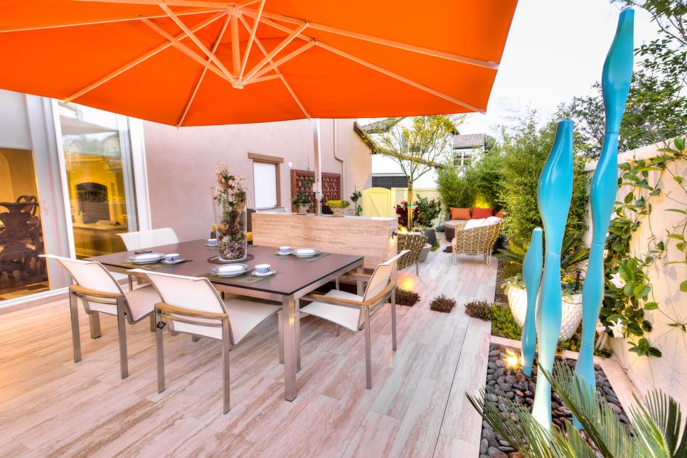 Image of: Dining Deck Covers for Shade