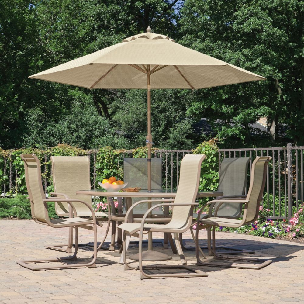 Dining Patio Furniture with Umbrella
