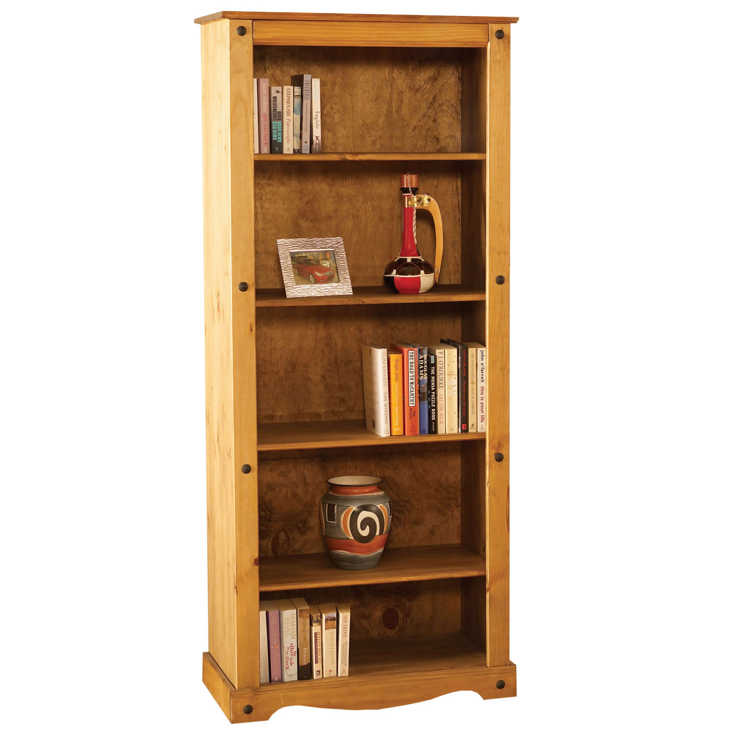 Image of: Distressed Bookcase Ideas