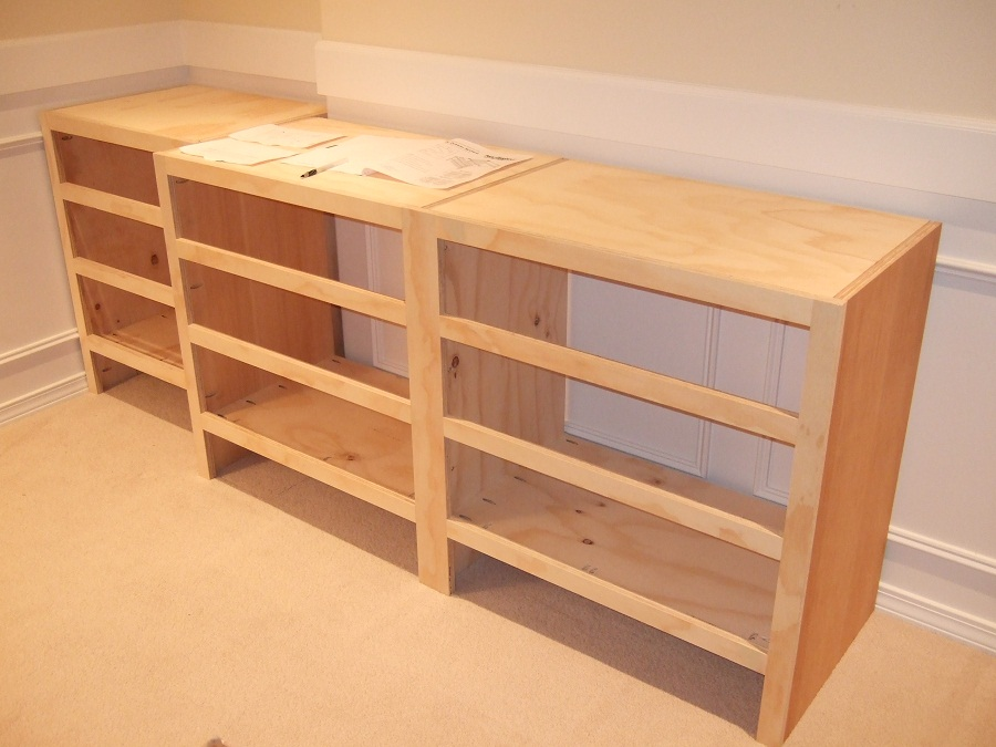 Image of: Diy Deep Bookcase