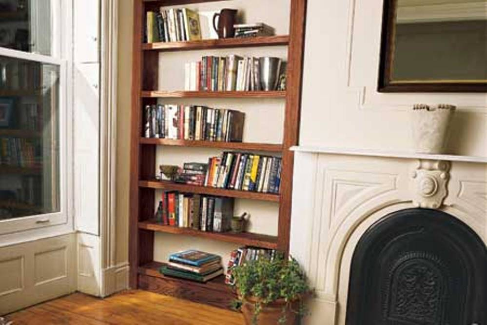 Image of: Diy Built in Bookcase Plans Images