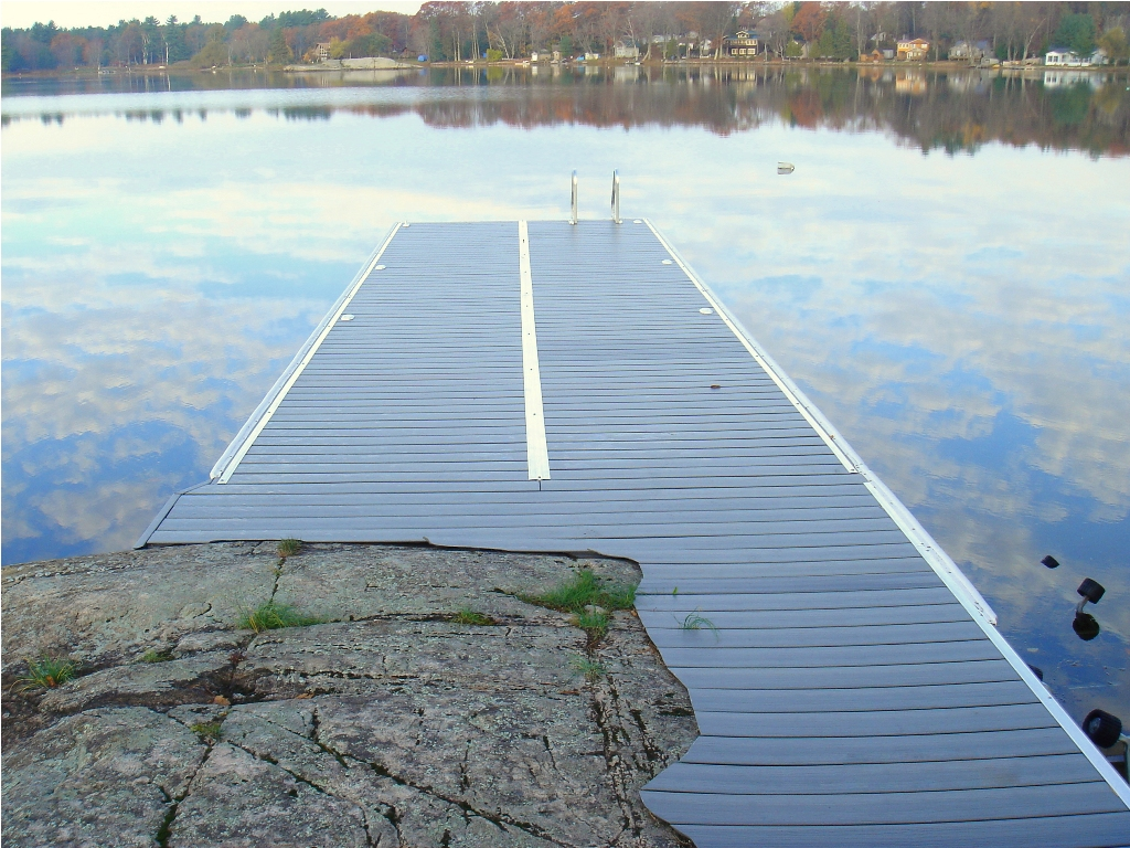 Image of: Dock Decking Ideas