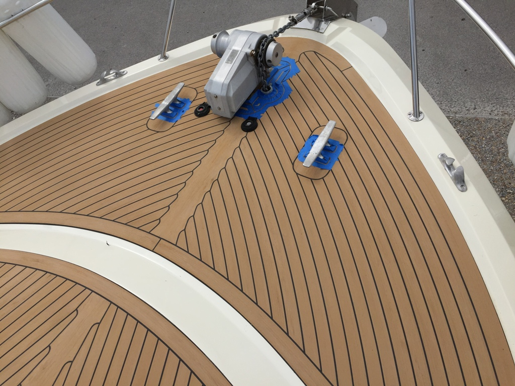 Image of: Dock Decking Material