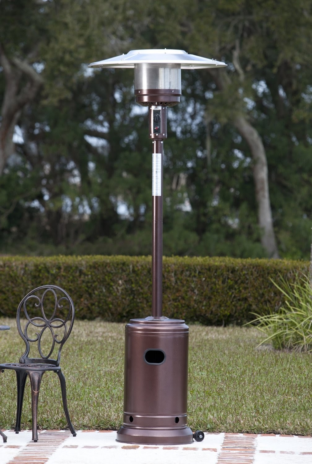 Image of: Durable Propane Patio Heater