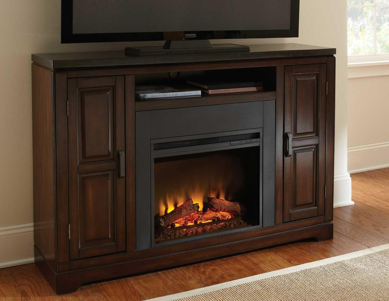 Image of: Durant Electric Fireplace Media Console
