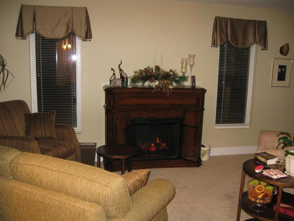 Image of: Electric Fireplace With Mantel Ideas