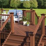 Elegant Composite Deck Railings