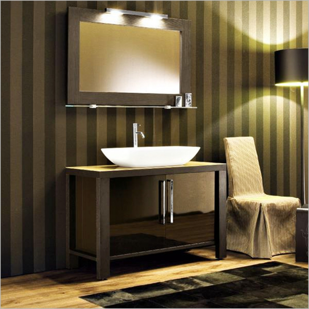 Image of: Elegant Decorative Bathroom Mirrors